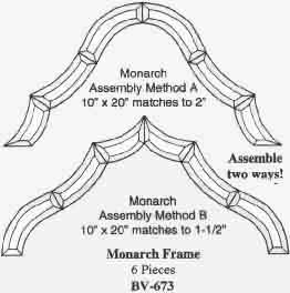 Bevel Cluster - Monarch Frame
