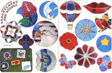 Stained Glass Suncatcher Pattern Book