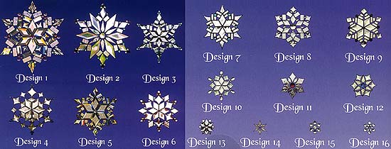 Magic Of Snowflakes Ii Stained Glass Pattern Book