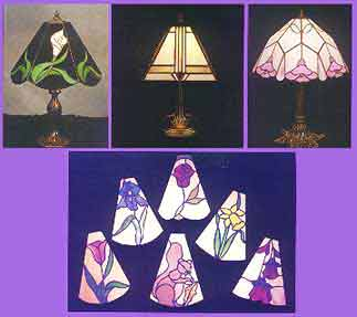 Stained Glass Lamp Pattern Book