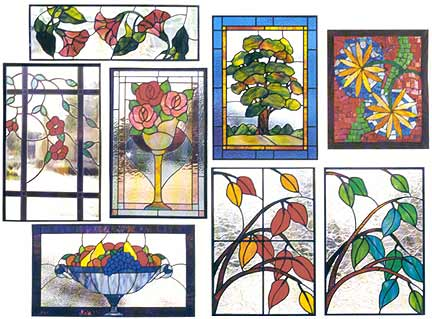 Stained Glass Patterns Windows