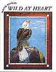 Stained Glass Patten Book - Eagle, Tiger, Deer, Wolf