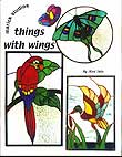 Stained Glass Pattern Book - Birds & Butterflies