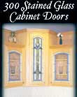 Stained Glass Cabinet Door Pattern Book