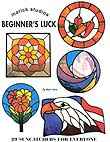 Stained Glass Suncatchers Book - Beginners Luck