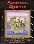 Stained Glass Pattern Book - Animal Quest