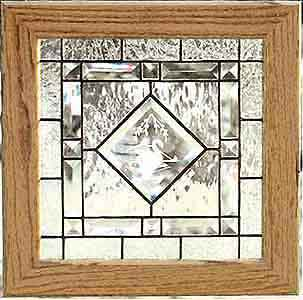 Stained Glass Beveled Glass Design