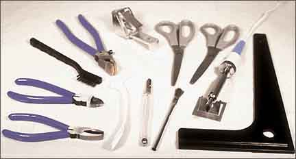 Deluxe Stain Glass Tool Kit