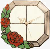 Stained Glass Project - Clock