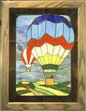 Stained Glass Pattern - Balloons