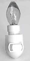 Leviton Night Light Base - White