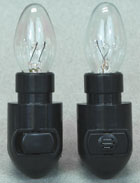 Black Leviton Night Light Base